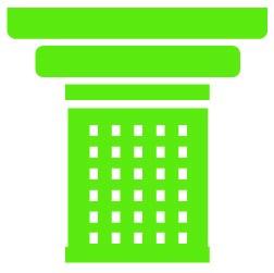 green pillar