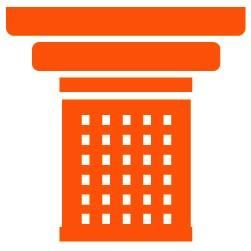 orange pillar